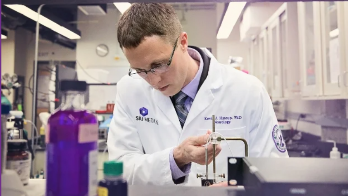 Alzheimers research lab