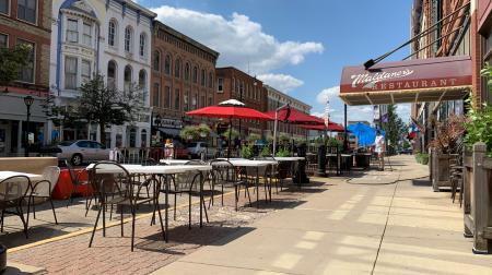Downtown Springfield Illinois